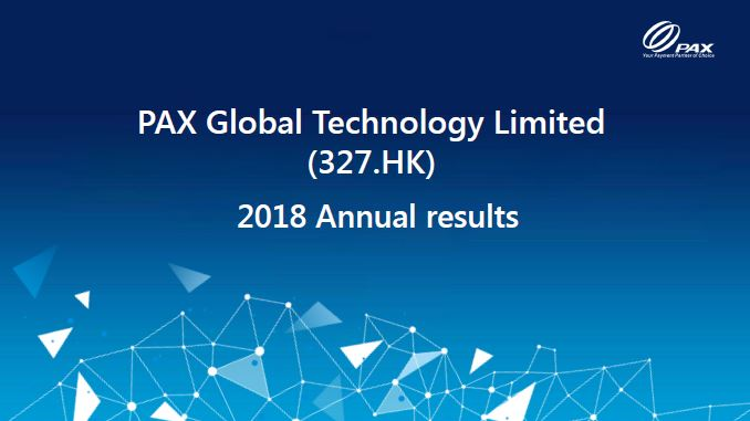2018 Annual Results Presentation 2018