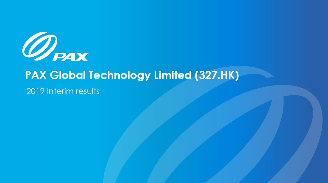 2019 Interim Results Presentation 2019