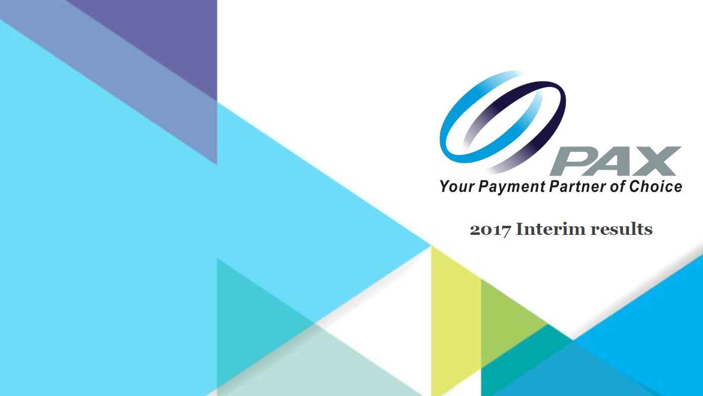 2017 Interim Results Presentation 2017